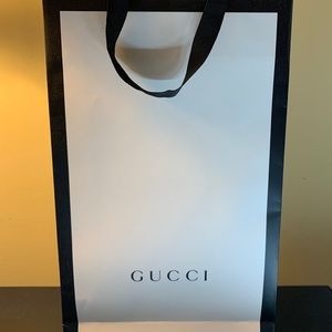 Gucci Paper Bag Authentic Gucci Accessories